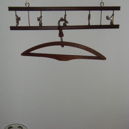detail clothes hanger